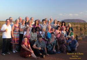 Sunset at Uluru Nov12