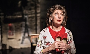 Maureen Beattie in The Carousel, in Edinburgh