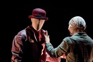 Theatre re present Blind Mans Song as part of The Edinburgh Fringe Festival 2015 Photo Credit: Richard Davenport. richard@rwdavenport.co.uk. 07545642134