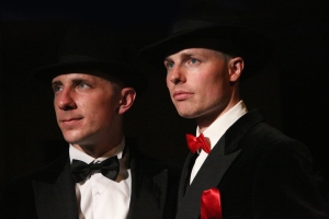 Alexander Huetson and Nic Kyle in Savage at the Arts Theatre (c) Roy Tan (2)
