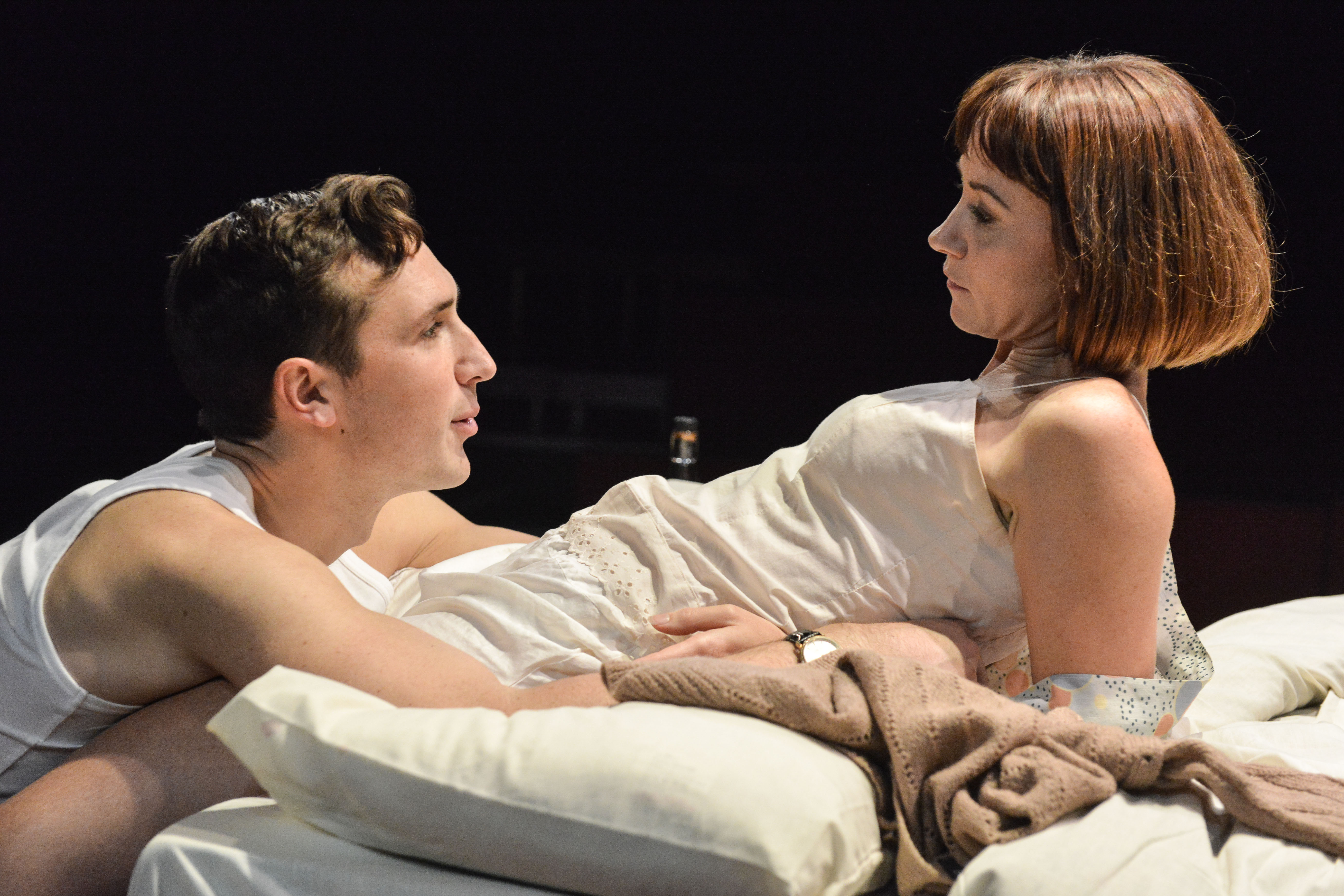 on feet images of order to buy Kiss Me – production images – Ben Lloyd-Hughes and Claire ...